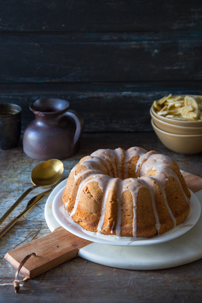 Banana Passion Bundt cake