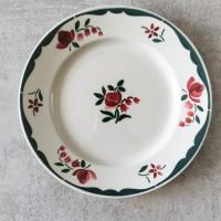 Piatto da dessert piccoli fiori - Assiette pour désert petites fleurs - VENDUTO
